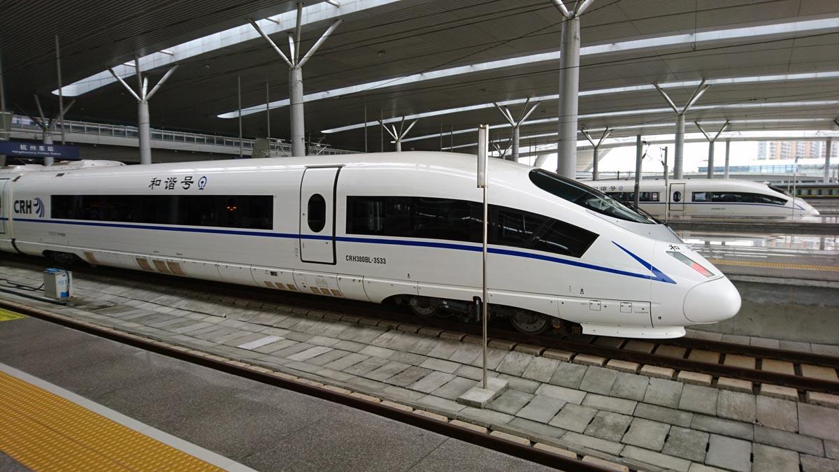 中国版の新幹線
