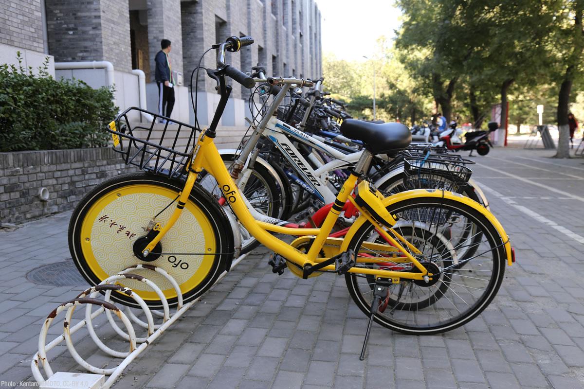 北京大学の教員・学生だけが乗れる。