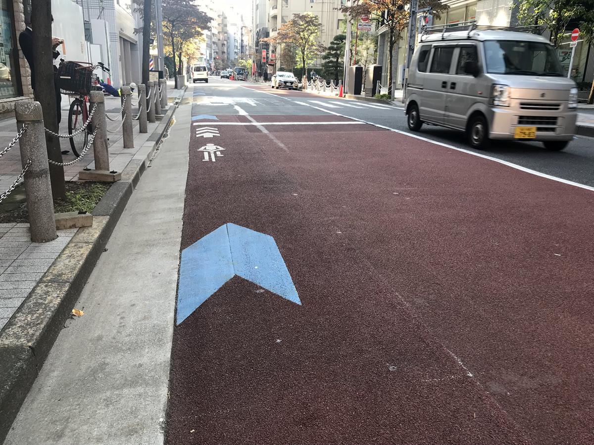 自転車ナビマーク・自転車ナビライン