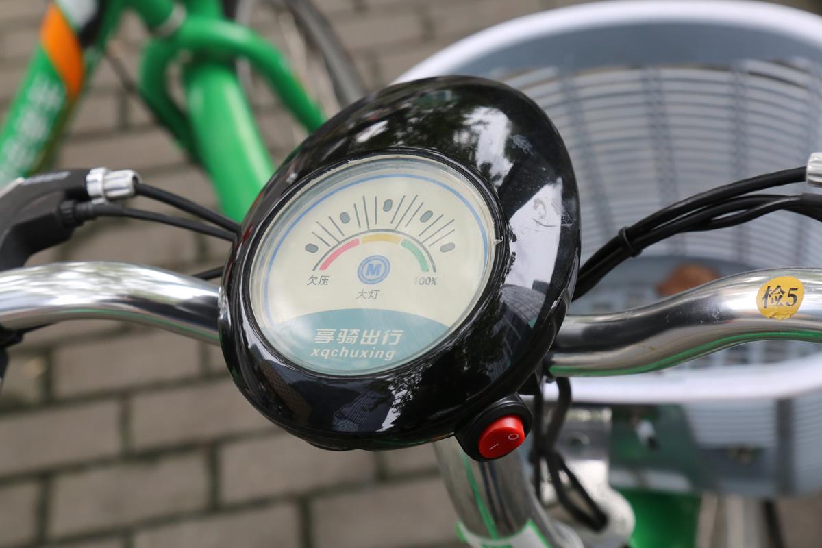 7号電単車や享騎電動車の初期バージョンについているメーター