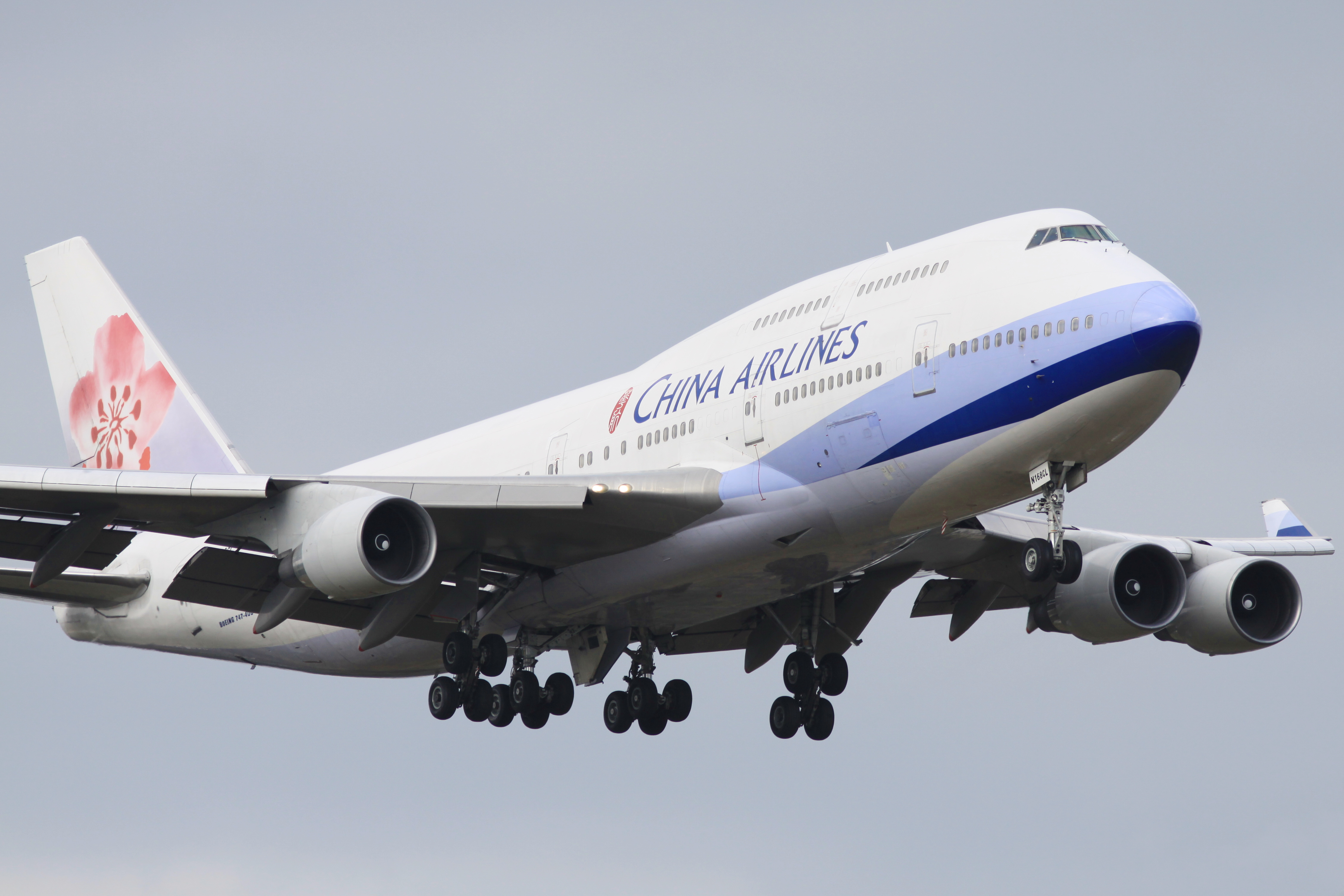 China Airlines B744