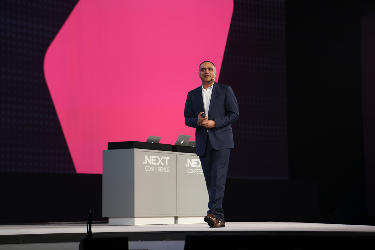 NutanixのFounder, CEOであるディラージ・パンディ氏